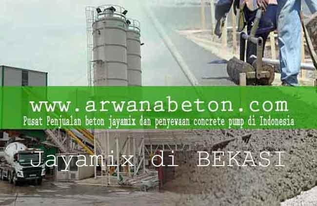 harga beton jayamix bekasi