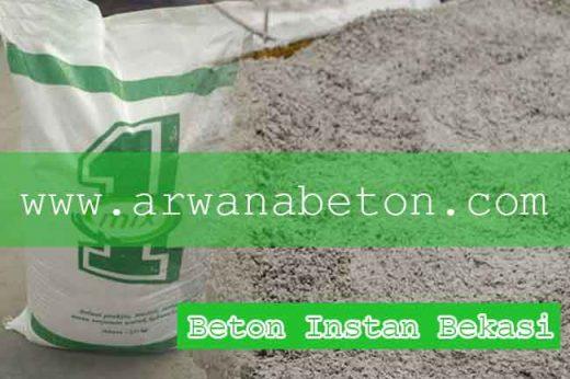 harga beton instan bekasi