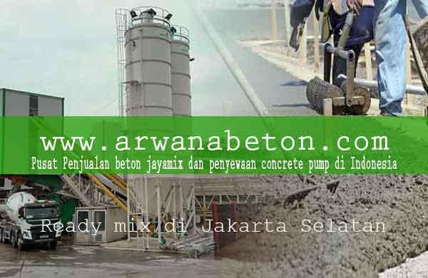 Harga Beton Ready mix Pancoran Per m3 Terbaru 2020