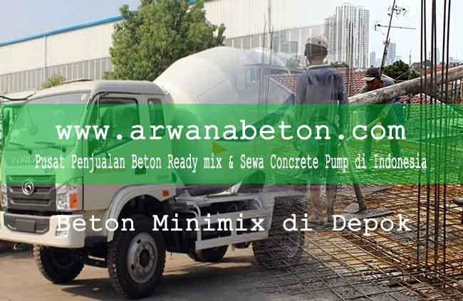 harga beton minimix depok