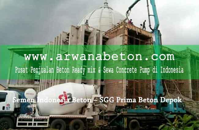 harga semen indonesia beton sgg prima depok
