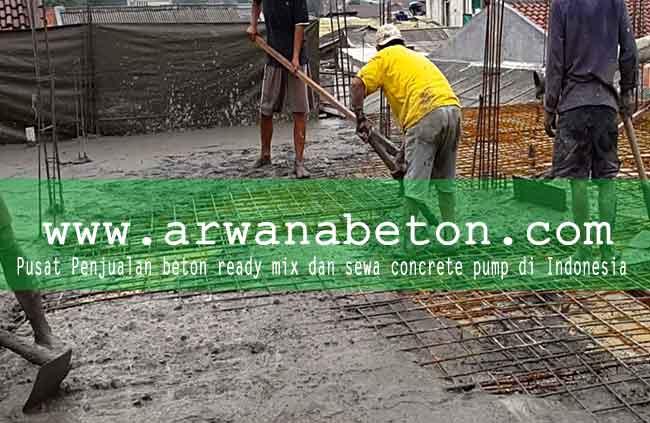 harga cor beton