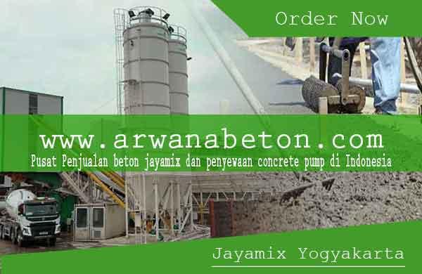 harga beton jayamix jogja - yogyakarta