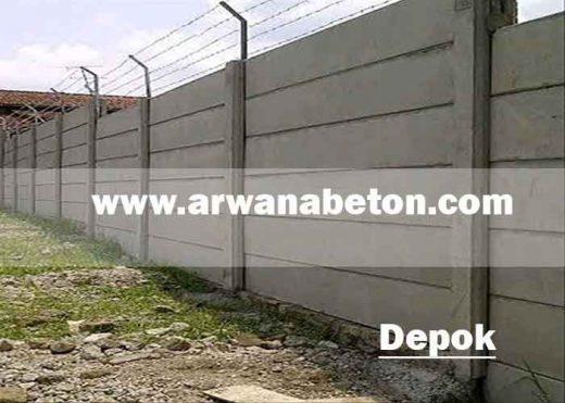 harga pagar panel beton depok