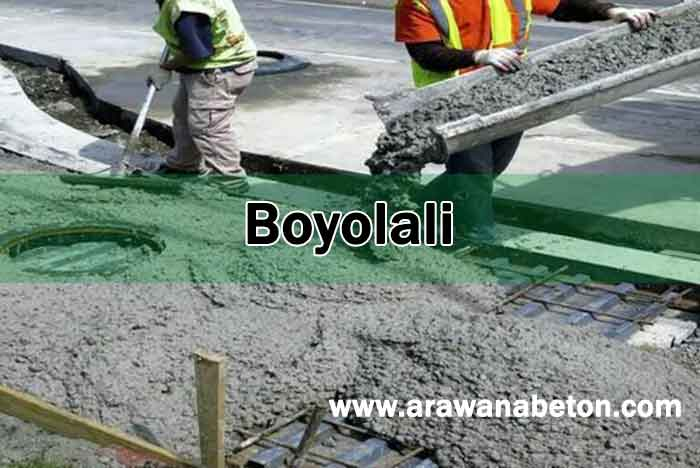Beton Jayamix di Boyolali