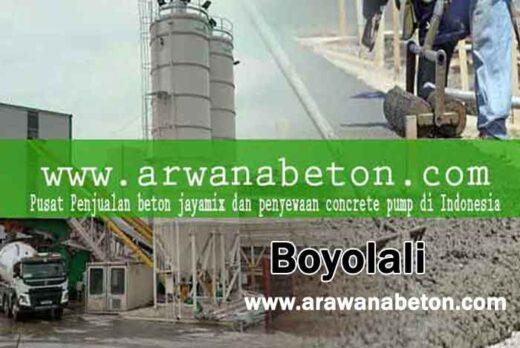 harga beton jayamix Boyolali